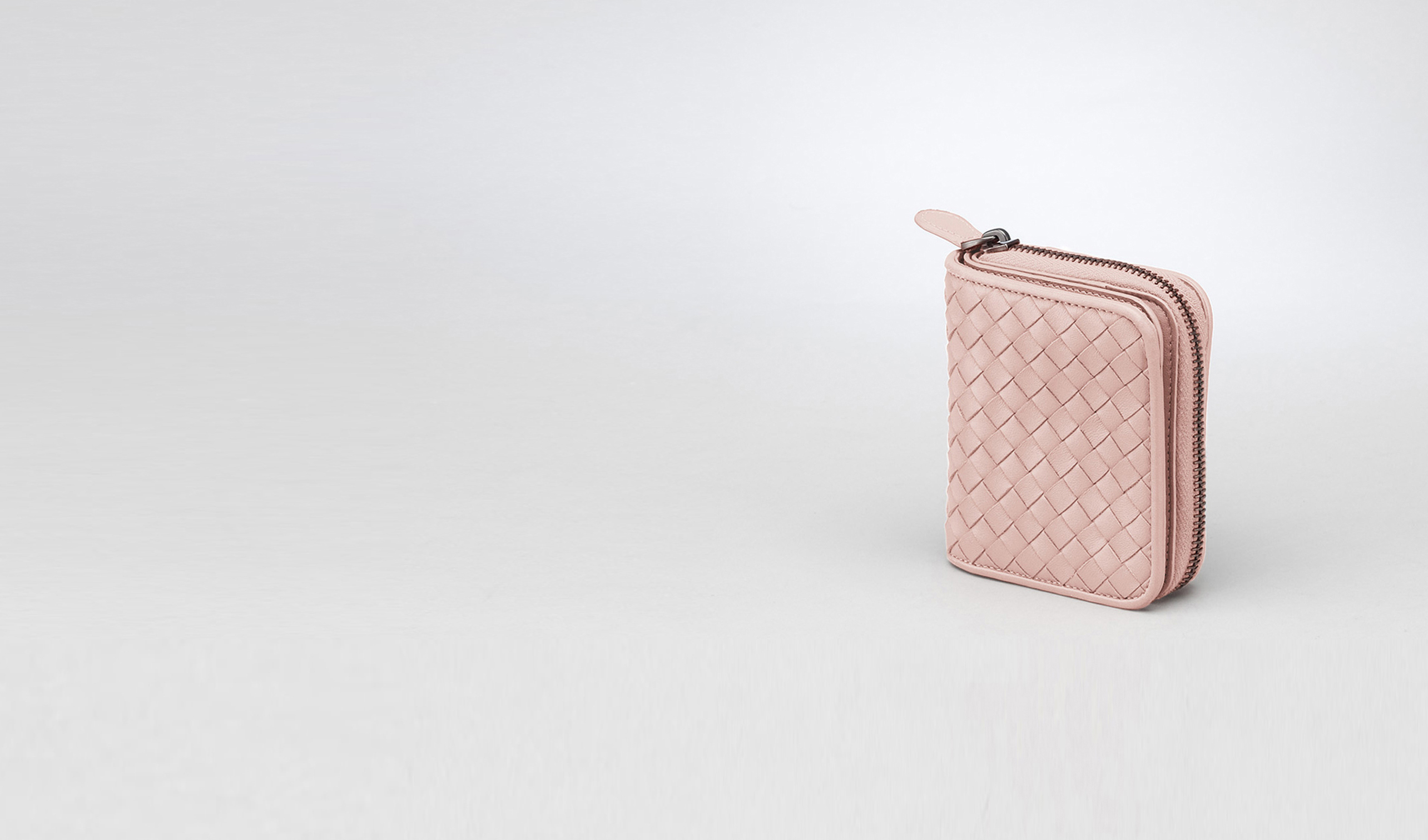 BOTTEGA VENETA Wallet D Intrecciato Nappa Mini Wallet pl
