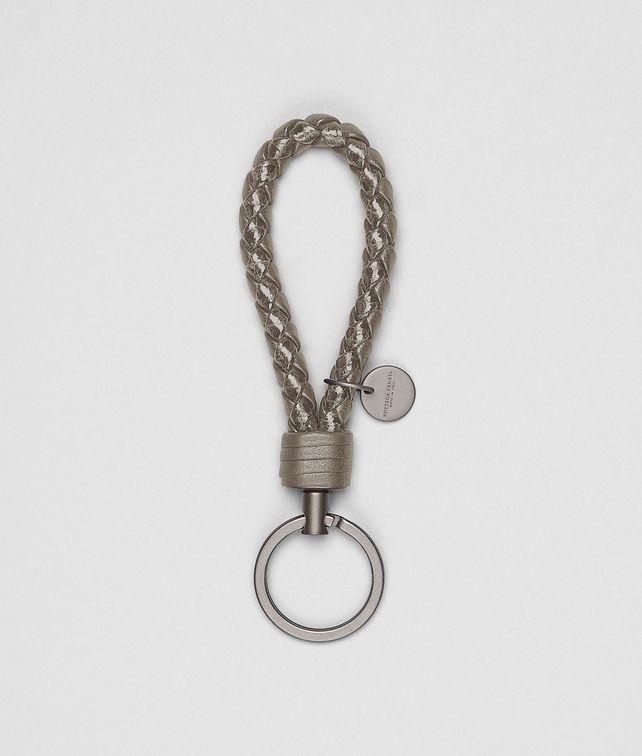 BOTTEGA VENETA Fume Intrecciato Ayers Key Ring Keyring or Bracelets E fp