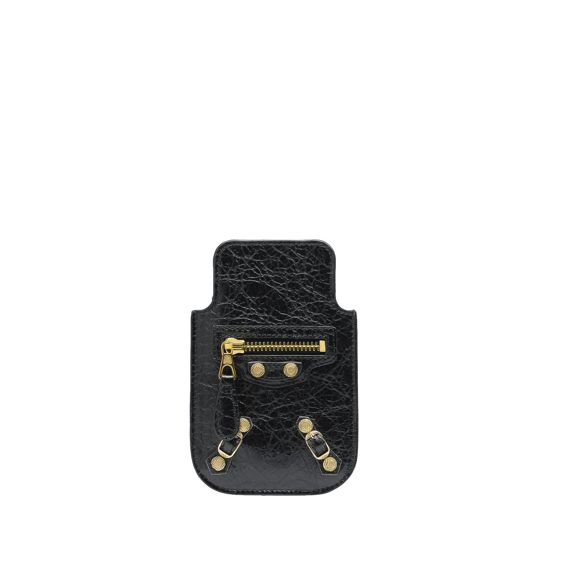 Balenciaga Giant Gold Smart Phone Pouch