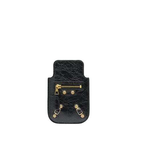BALENCIAGA Tech accessories D Balenciaga Giant Gold Smart Phone Pouch f