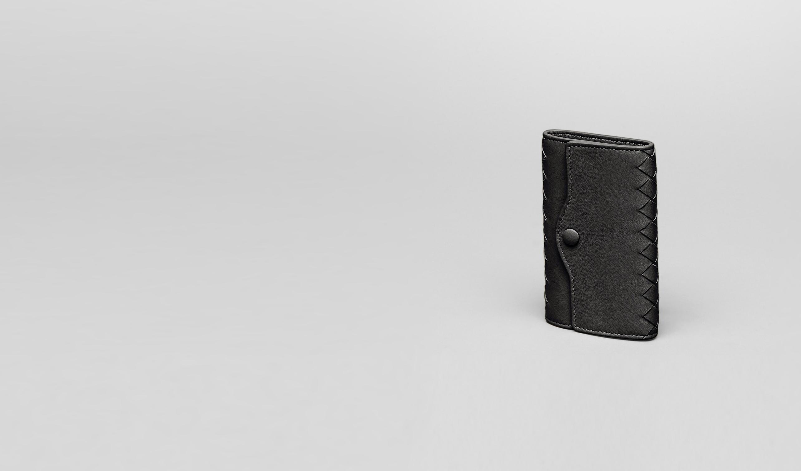 BOTTEGA VENETA Keyring or Bracelets E Intrecciato Nappa Key Case pl