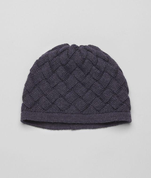 BOTTEGA VENETA Wollmütze Navy Schal oder Hut oder Handschuhe U fp