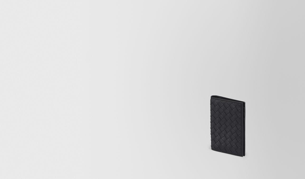 card case in nero intrecciato vn landing