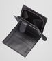 BOTTEGA VENETA MINI WALLET IN NERO INTRECCIATO NAPPA Mini Wallet or Coin Purse D lp