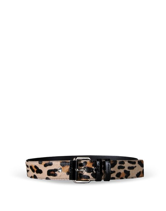 Leather Belt Woman MOSCHINO CHEAPANDCHIC