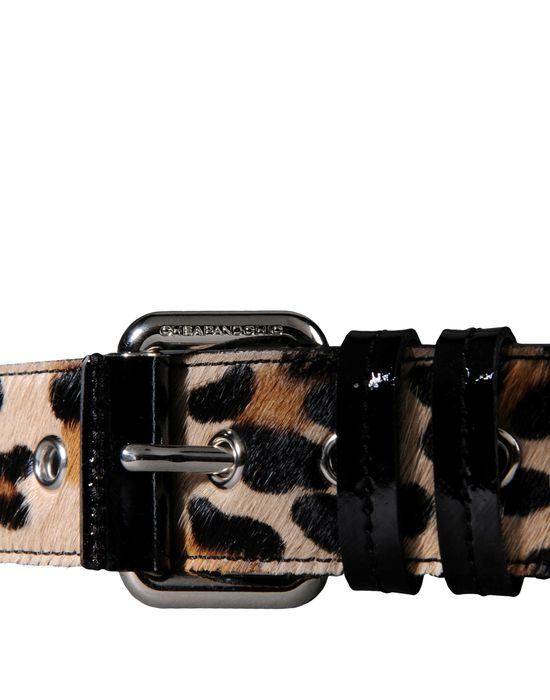 Leather Belt Woman MOSCHINO CHEAP AND CHIC