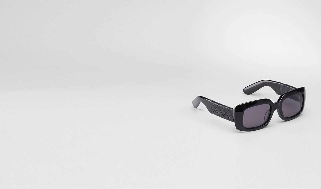 BOTTEGA VENETA Sunglasses D Black Grey Acetate Eyewear BV 1000 pl