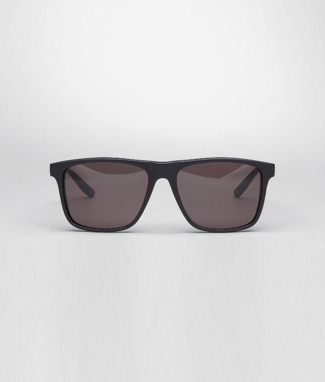 BOTTEGA VENETA Sonnenbrille aus Azetat Matte Black Blue Sonnenbrille E fp