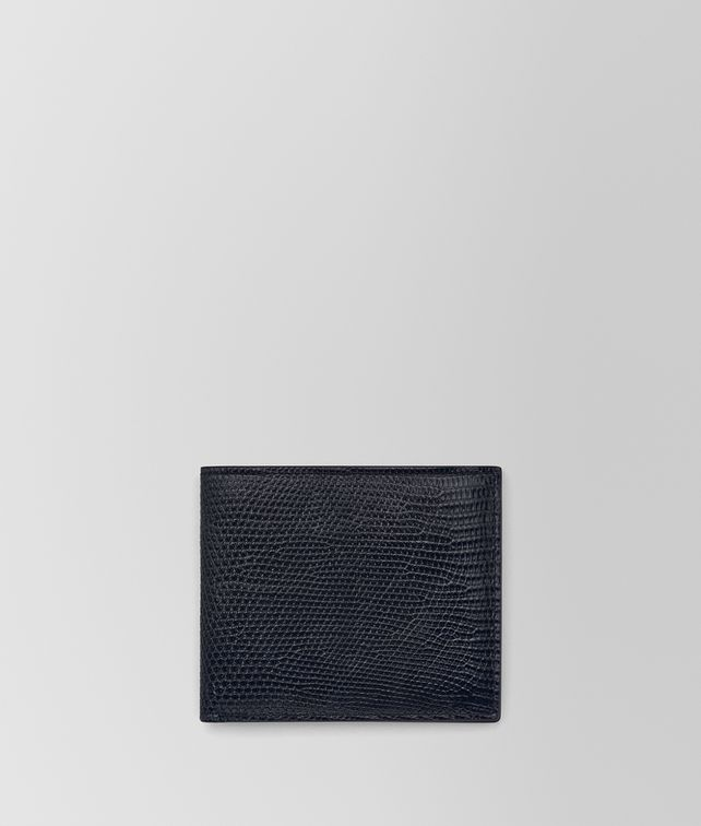 BOTTEGA VENETA BI-FOLD WALLET IN TOURMALINE LIZARD Bi-fold Wallet Man fp