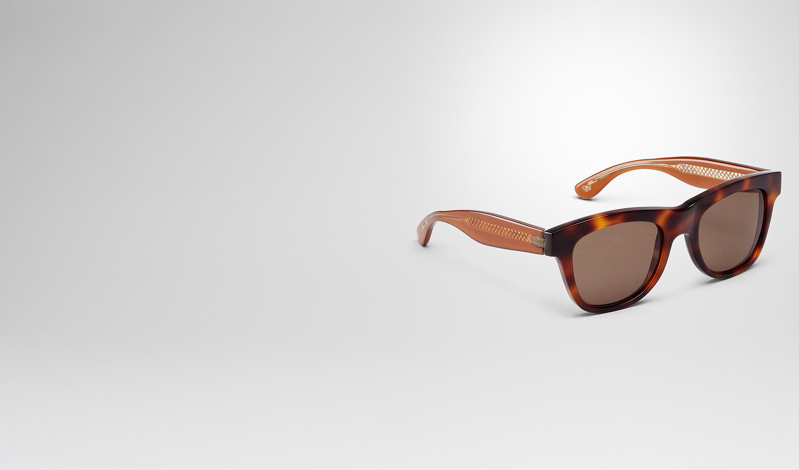 BOTTEGA VENETA Sonnenbrille E Getönte Sonnenbrille aus Azetat BV 248 Havana Brown pl