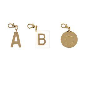 Alphabet Charm Key ring