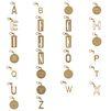 STELLA McCARTNEY Schlüsselring mit Buchstaben-Anhänger Schmuck D f