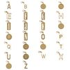 STELLA McCARTNEY Alphabet Charm Key ring Jewelry D f