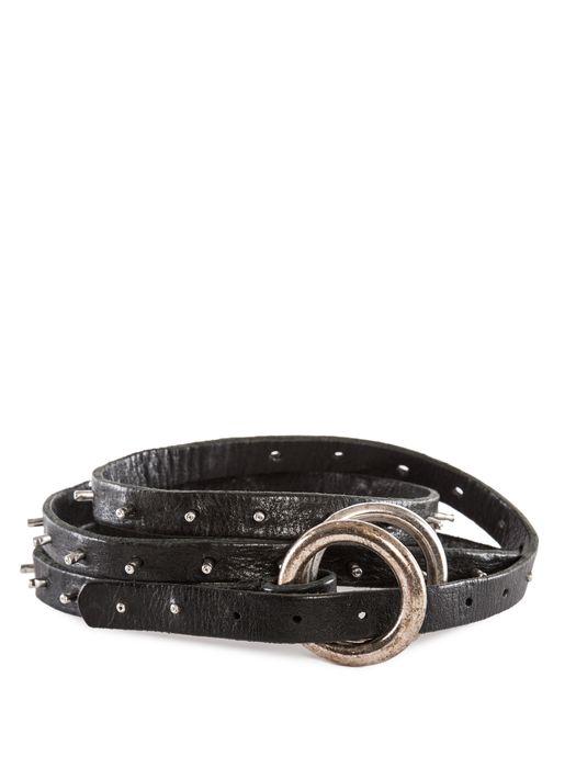 DIESEL REBOOT-BLACK-BELT Cintura U f
