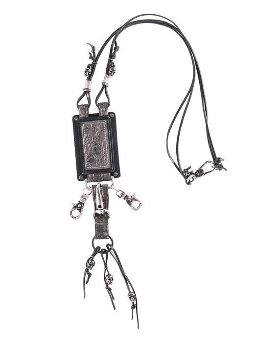 DIESEL REBOOT-BLACK-NECKLAC Gadget & Others D f