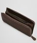 BOTTEGA VENETA Ebano Intrecciato Nappa Zip Wallet Zip Around Wallet D ap
