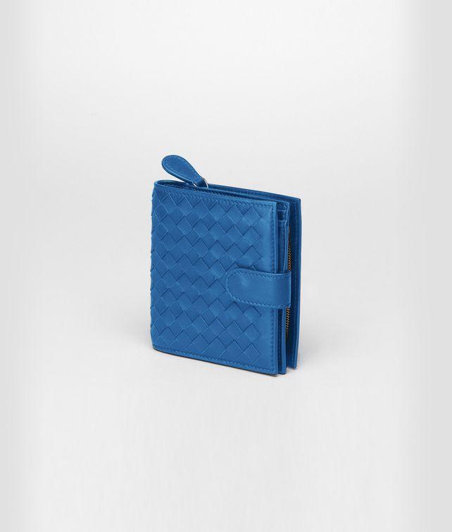 Électrique Intrecciato Nappa French Flap Wallet