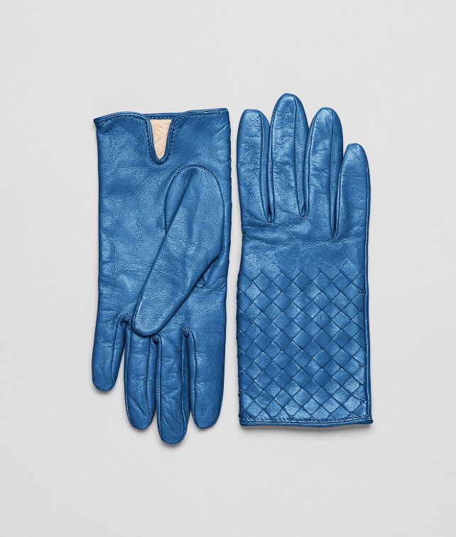 BOTTEGA VENETA Électrique Intrecciato Nappa Gloves Scarf or other D fp