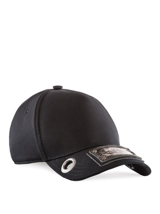 DIESEL REBOOT-BLACK-CAP Caps, Hats & Gloves U f