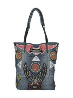 DIESEL REBOOT DENIM BAG Borsa D f
