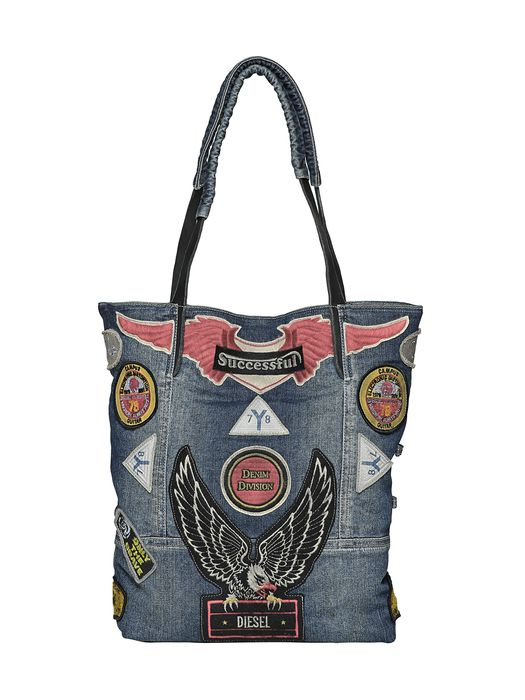 DIESEL REBOOT DENIM BAG Handbag D f