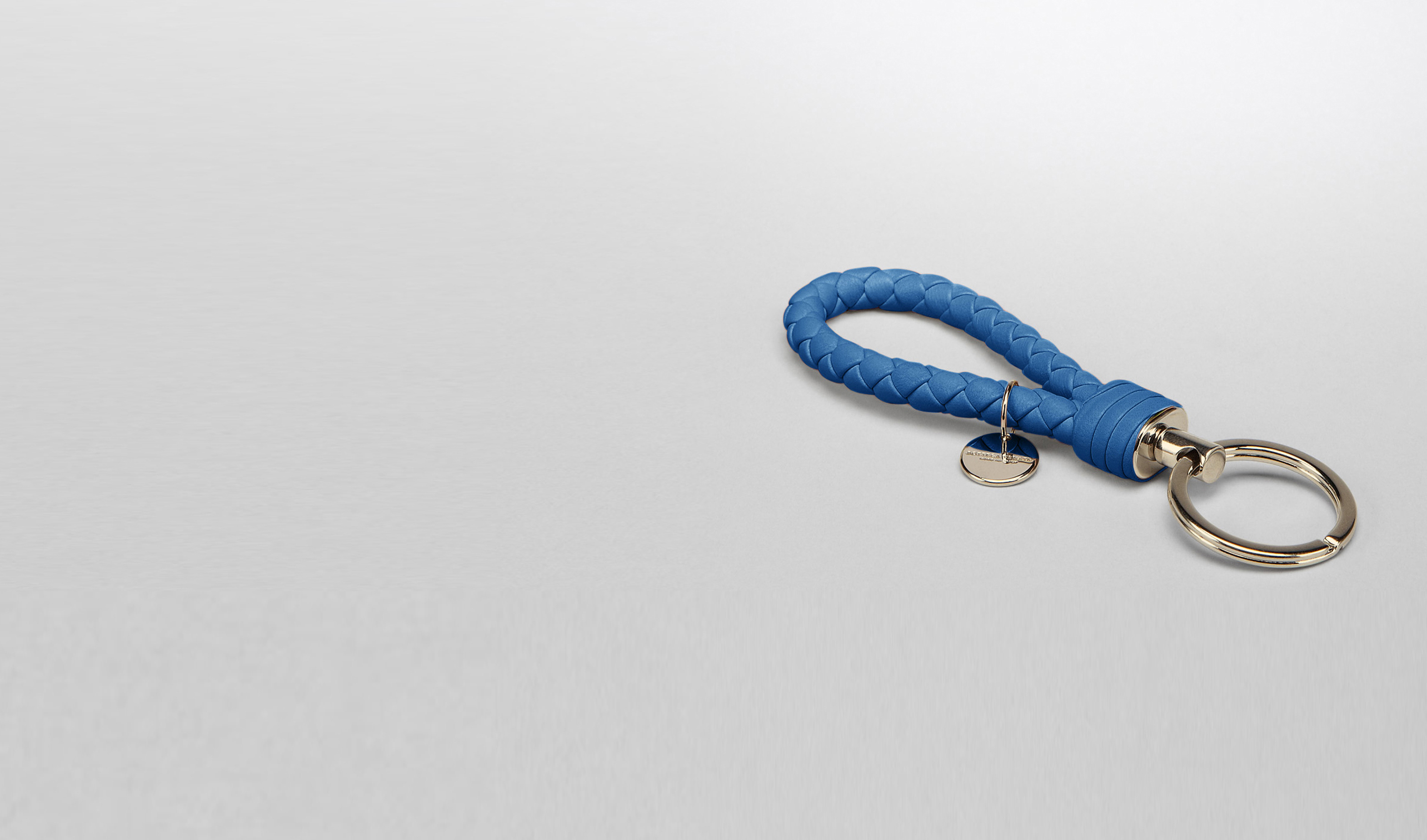 BOTTEGA VENETA Keyring or Bracelets E Électrique Intrecciato Nappa Key Ring pl
