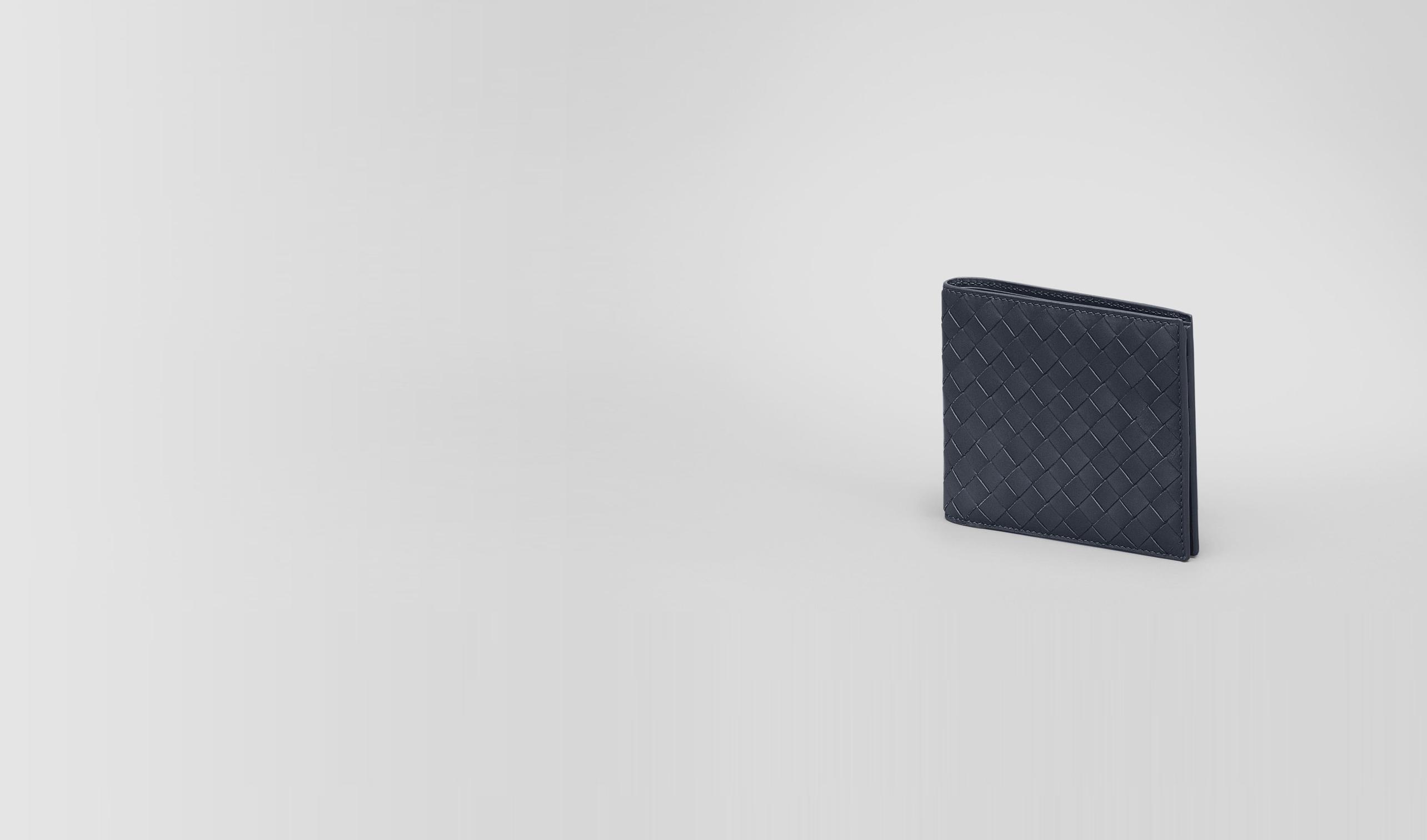 BOTTEGA VENETA Bi-fold Wallet U Prusse Intrecciato Vachette Wallet pl