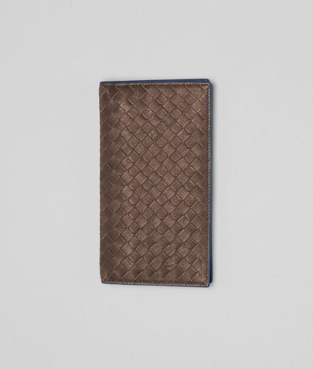 BOTTEGA VENETA Edoardo Électrique Intrecciato Washed Vintage Continental Wallet Continental Wallet U fp