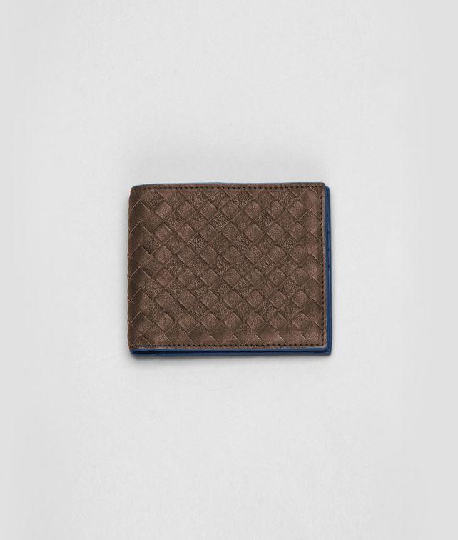 BOTTEGA VENETA Edoardo Électrique Intrecciato Washed Vintage Wallet Bi-fold Wallet U fp