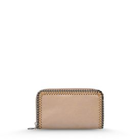 STELLA McCARTNEY Falabella Wallets D Redwood Falabella Shiny Dotted Chamois Flap Wallet f