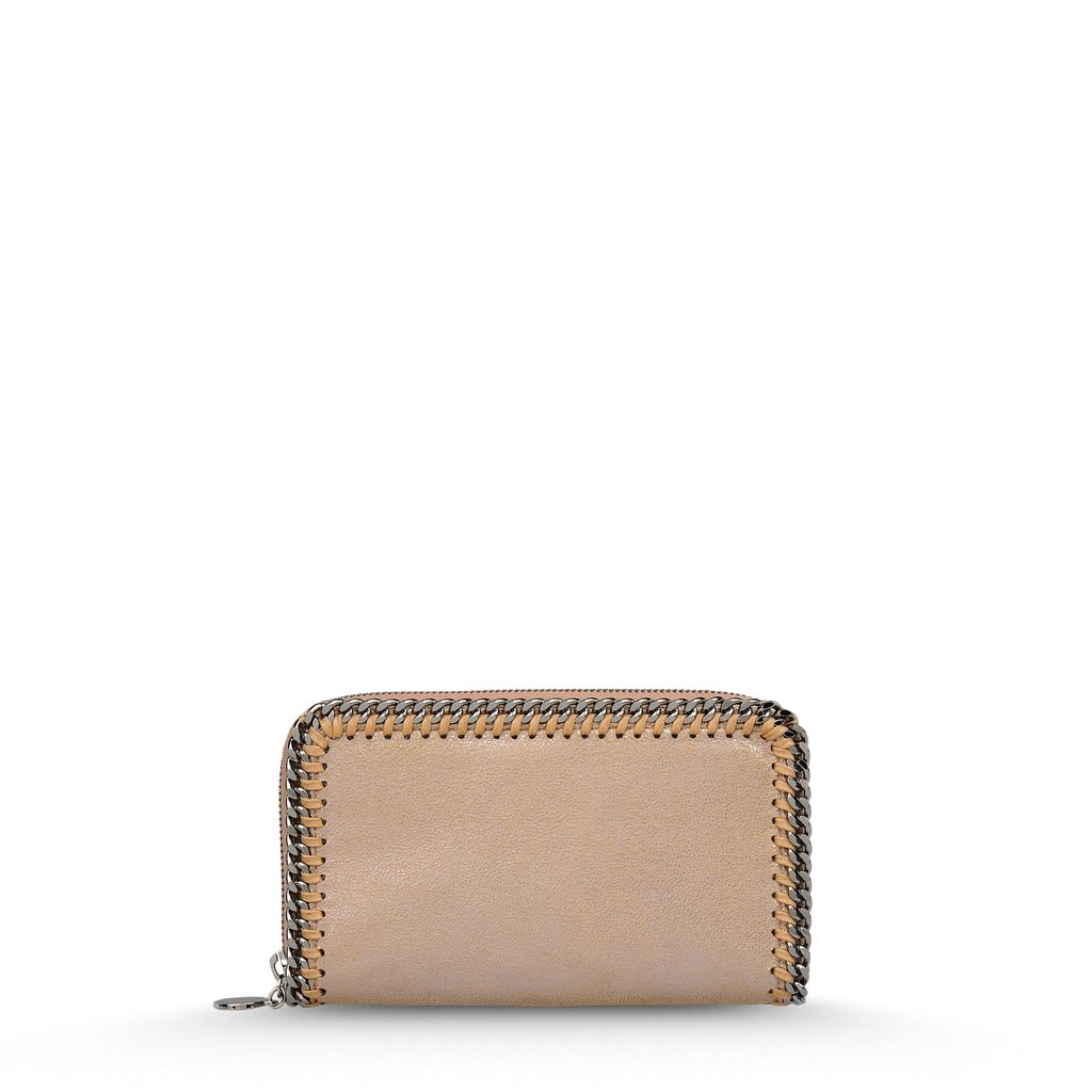 Falabella Chamois Zip Wallet - STELLA MCCARTNEY