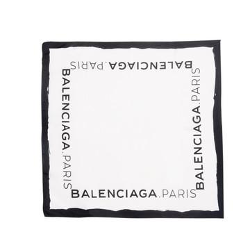 BALENCIAGA Schals & Tücher D Balenciaga Twill-Foulard mit Logo f