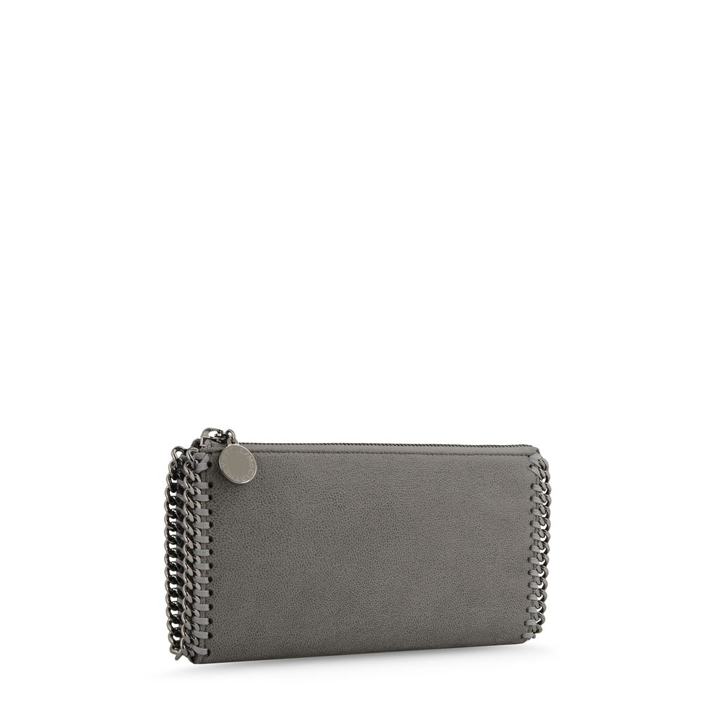 Falabella Shaggy Deer Zip Wallet  - STELLA MCCARTNEY