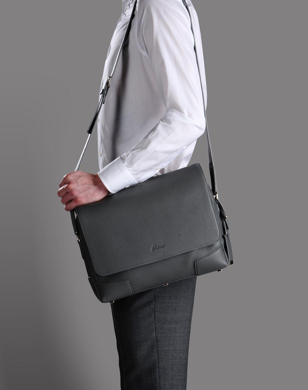 BRIONI MESSENGER BAG Leather Goods U a