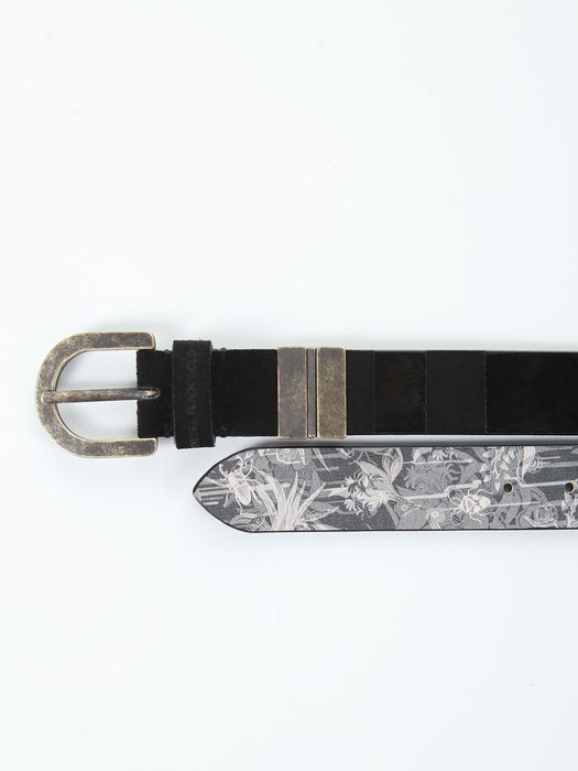DIESEL BLACK GOLD BUSTY-REVERSIBLE Ceinture U e