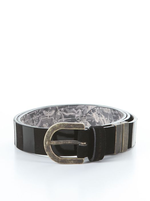 DIESEL BLACK GOLD BUSTY-REVERSIBLE Ceinture U f