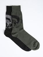 DIESEL SKM-RAY-TWOPACK Chaussettes U f