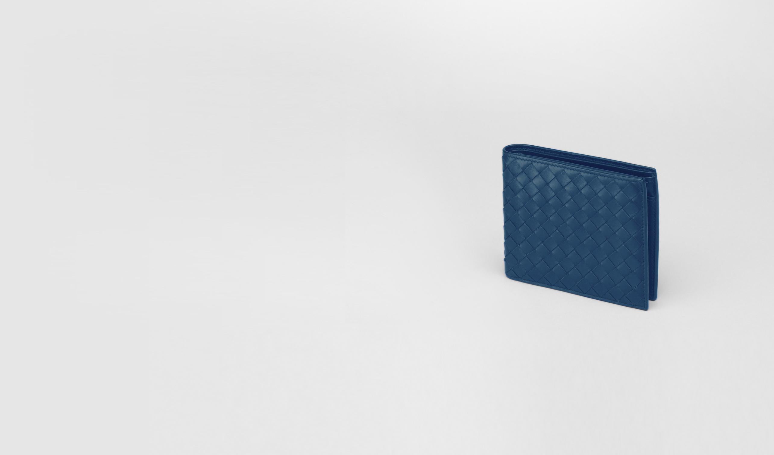 BOTTEGA VENETA Bi-fold Wallet U Électrique Intrecciato VN Wallet pl