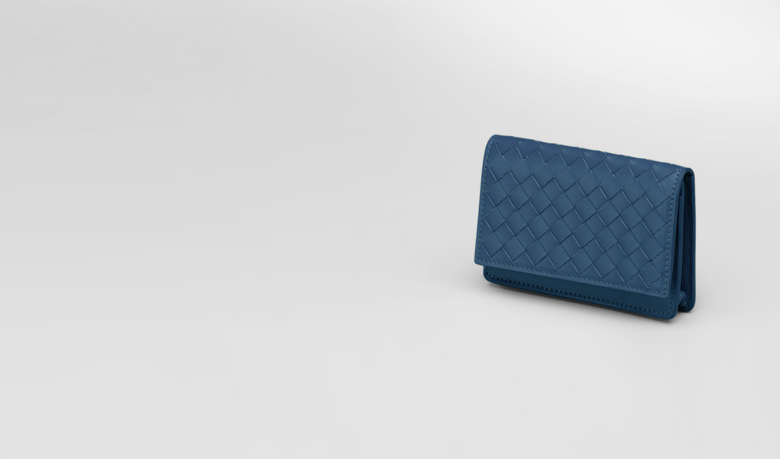 BOTTEGA VENETA Card Case or Coin Purse U Électrique Intrecciato VN Card Case pl