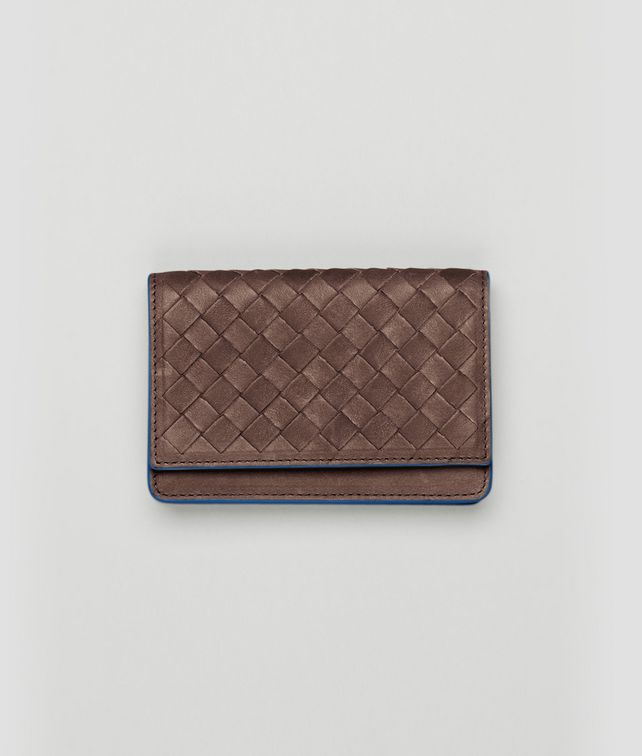 BOTTEGA VENETA Edoardo Électrique Intrecciato Washed Vintage Card Case Card Case or Coin Purse U fp