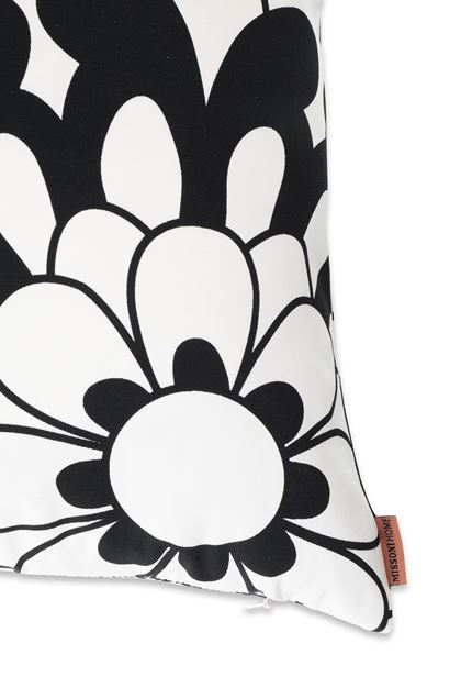 MISSONI HOME 16x16 in. Cushion Black E - Front