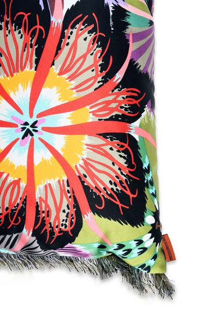 MISSONI HOME PASSIFLORA CUSHION Pink E - Front