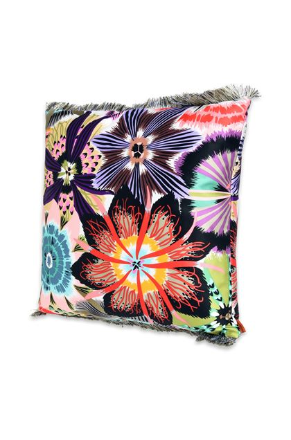 MISSONI HOME PASSIFLORA CUSHION Pink E - Back