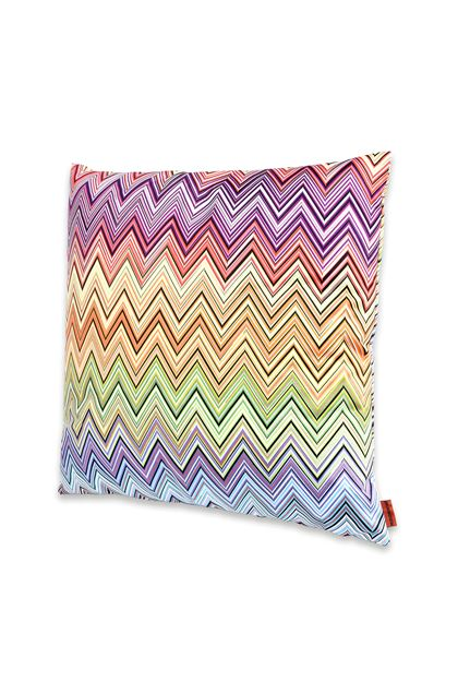 MISSONI HOME JARRIS CUSHION Purple E - Back