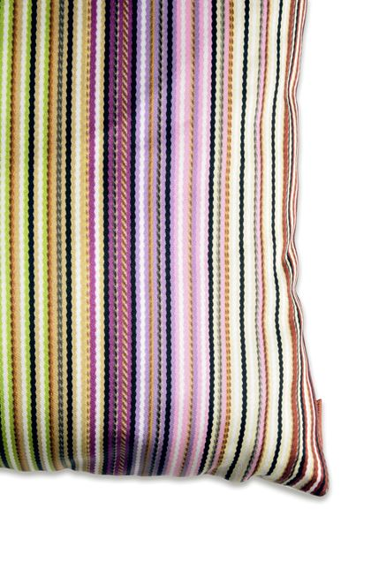 MISSONI HOME JENKINS CUSHION Light green E - Front