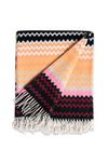 MISSONI HOME HUMBERT THROW Plaid E m