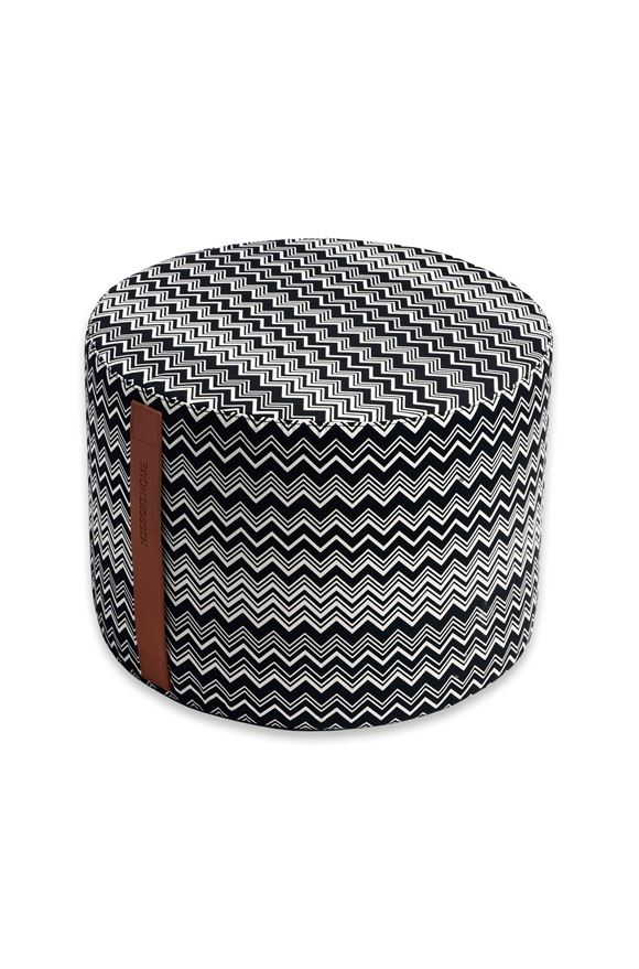 MISSONI HOME Cylinder CIRC.40X30 E TOBAGO CYLINDER POUF m