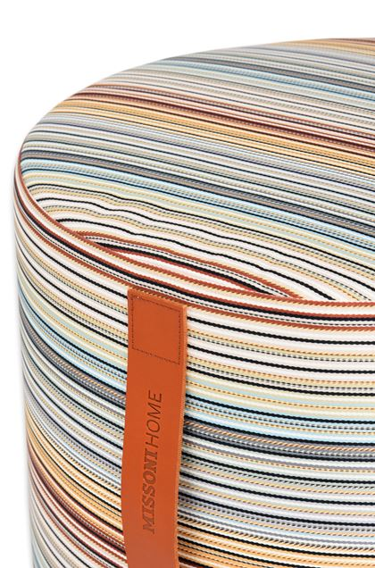 MISSONI HOME JENKINS ПУФ-ЦИЛИНДР Небесно-голубой E - Передняя сторона