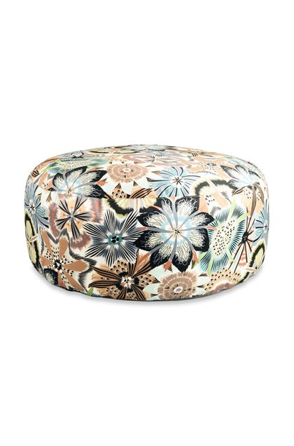 MISSONI HOME PASSIFLORA PALLINA ПУФ-ЦИЛИНДР Песочный E - Обратная сторона