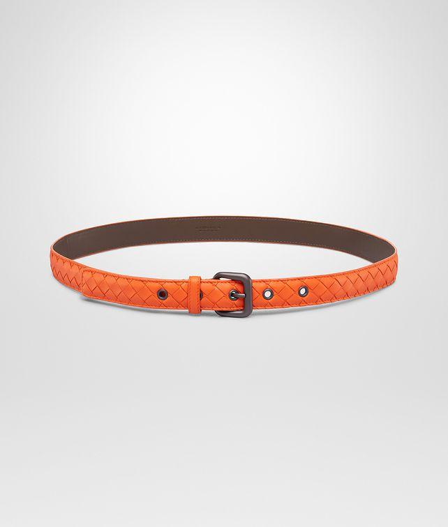 BOTTEGA VENETA Tangerine Intrecciato Nappa Belt Belt D fp